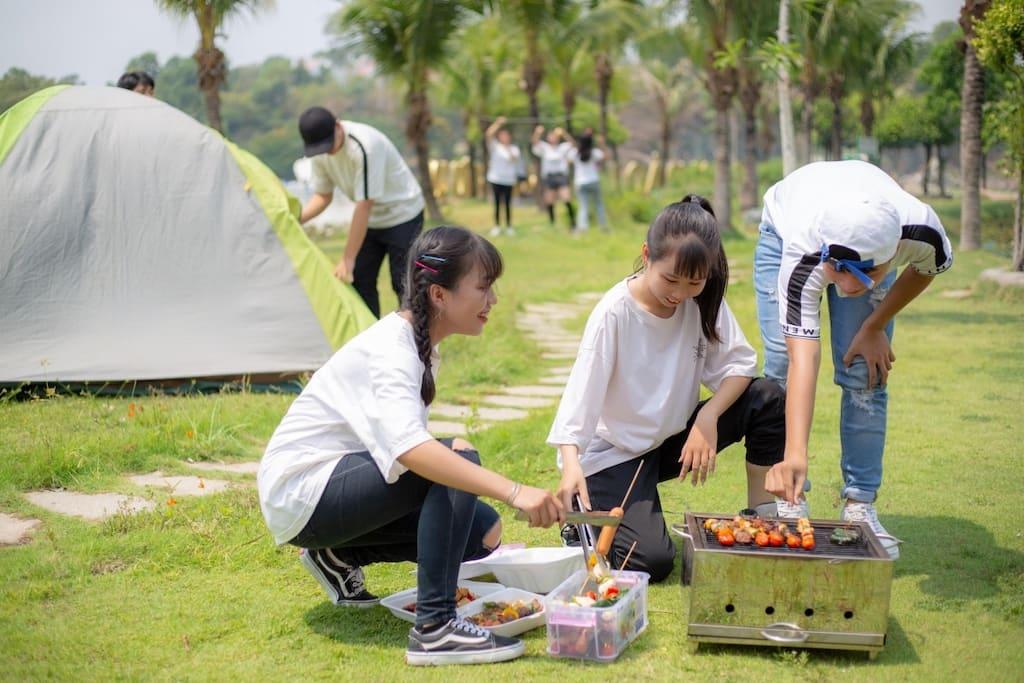 Cắm Trại Gần Sài Gòn
